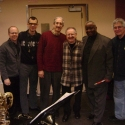 at a rehearsal with Frank Basile, John Mosca, Jerry Dodgien, Bernard Purdie and Warren Odze - 2010 copy
